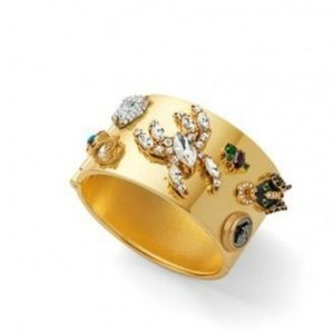 NWOT CAbi Secret Garden Wide Gold Cuff